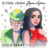 Elton John & Dua Lipa Cold Heart (PNAU Remix) Sheet Music and Printable PDF Score | SKU 501480