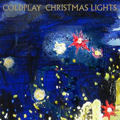 Download or print Coldplay Christmas Lights Digital Sheet Music Notes and Chords - Printable PDF Score