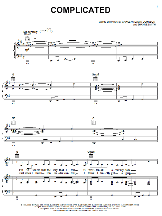 Carolyn Dawn Johnson Complicated sheet music notes printable PDF score