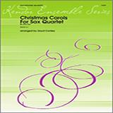 Conley Christmas Carols For Sax Quartet - Bb Tenor Sax Sheet Music and Printable PDF Score | SKU 124805