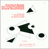 Murray Houllif Contest Duets For The Intermediate Snare Drummers Sheet Music and Printable PDF Score   SKU 124893