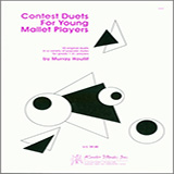 Houllif Contest Duets For The Young Mallet Players Sheet Music and Printable PDF Score   SKU 124899