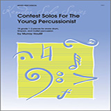 Houllif Contest Solos For The Young Percussionist Sheet Music and Printable PDF Score   SKU 124862