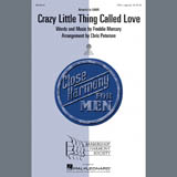 Queen Crazy Little Thing Called Love (arr. Chris Peterson) Sheet Music and Printable PDF Score | SKU 283990