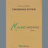 Michael Sweeney Crossings In Time - Bb Bass Clarinet Sheet Music and Printable PDF Score   SKU 346083