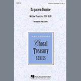 Melchior Franck Da Pacem Domine (arr. John Leavitt) Sheet Music and Printable PDF Score | SKU 476691