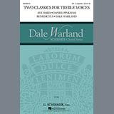 Daniel Pinkham Ave Maria & Benedictus Sheet Music and Printable PDF Score | SKU 154897