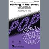 Martha & The Vandellas Dancing In The Street (arr. Kirby Shaw) Sheet Music and Printable PDF Score | SKU 89129