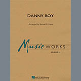 Samuel R. Hazo Danny Boy - Mallet Percussion 1 Sheet Music and Printable PDF Score | SKU 307191