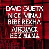 Download or print David Guetta feat. Nicki Minaj & Afrojack Hey Mama Digital Sheet Music Notes and Chords - Printable PDF Score