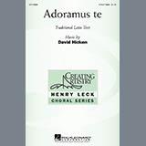 David Hicken Adoramus Te Sheet Music and Printable PDF Score | SKU 269657