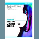 Download or print Deborah Baker Monday Canciones De Ninos - 1st Violin Digital Sheet Music Notes and Chords - Printable PDF Score