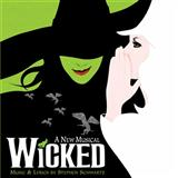 Stephen Schwartz Defying Gravity (from Wicked) Sheet Music and Printable PDF Score   SKU 110237
