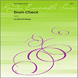 Del Borgo Drum Check - Full Score Sheet Music and Printable PDF Score   SKU 324086