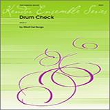 Del Borgo Drum Check - Percussion 4 Sheet Music and Printable PDF Score   SKU 324090