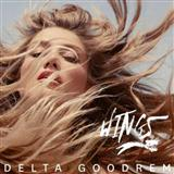Download or print Delta Goodrem Wings Digital Sheet Music Notes and Chords - Printable PDF Score