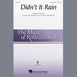 Traditional Spiritual Didn't It Rain (arr. Rollo Dilworth) Sheet Music and Printable PDF Score | SKU 89392