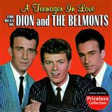 Dion & The Belmonts A Teenager In Love Sheet Music and Printable PDF Score | SKU 166047