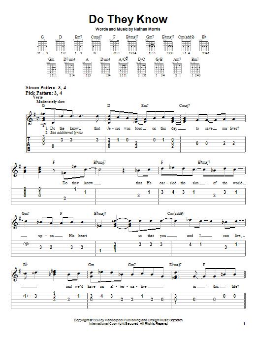 Boyz II Men Do They Know sheet music notes printable PDF score