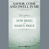 Don Besig Savior, Come And Dwell In Me Sheet Music and Printable PDF Score | SKU 176055