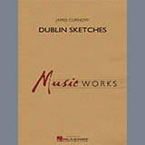 James Curnow Dublin Sketches - Eb Baritone Saxophone Sheet Music and Printable PDF Score | SKU 355695
