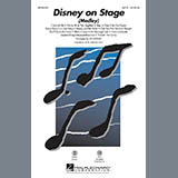 Ed Lojeski Disney On Stage (Medley) - Bb Trumpet 1 Sheet Music and Printable PDF Score | SKU 286999