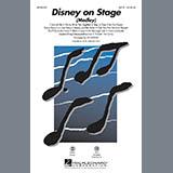 Ed Lojeski Disney On Stage (Medley) - Tenor Sax Sheet Music and Printable PDF Score | SKU 287004