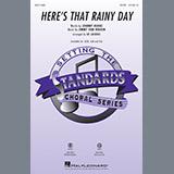 Ed Lojeski Here's That Rainy Day - Acoustic Bass Sheet Music and Printable PDF Score | SKU 372688