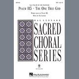 Ed Lojeski Psalm 115: The One True God - Bb Clarinet Sheet Music and Printable PDF Score | SKU 280668