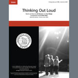 Ed Sheeran Thinking Out Loud (arr. Kirby Shaw) Sheet Music and Printable PDF Score | SKU 407097