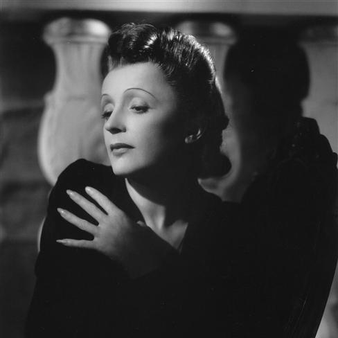 Edith Piaf image and pictorial