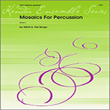 Download Elliot A. Del Borgo 'Mosaics For Percussion - Percussion 5' Digital Sheet Music Notes & Chords and start playing in minutes