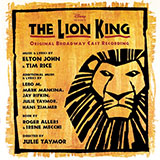 Download or print Elton John Nants' Ingonyama (Stage Version) (from The Lion King: Broadway Musical) Digital Sheet Music Notes and Chords - Printable PDF Score