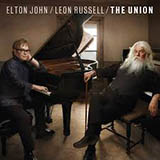 Elton John & Leon Russell In The Hands Of Angels Sheet Music and Printable PDF Score | SKU 105171