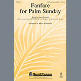 Mary McDonald Fanfare For Palm Sunday Sheet Music and Printable PDF Score | SKU 93625