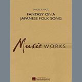 Samuel R. Hazo Fantasy On A Japanese Folk Song - Eb Alto Saxophone 2 Sheet Music and Printable PDF Score   SKU 347029