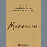 Samuel R. Hazo Fantasy On A Japanese Folk Song - Euphonium in Treble Clef Sheet Music and Printable PDF Score   SKU 347021