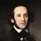 Felix Mendelssohn Abschied Vom Walde Sheet Music and Printable PDF Score   SKU 161032