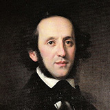 Felix Mendelssohn On Wings Of Song Sheet Music and Printable PDF Score | SKU 105574