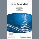 Jose Feliciano Feliz Navidad (arr. Paul Langford) Sheet Music and Printable PDF Score | SKU 426432