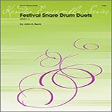 John H. Beck Festival Snare Drum Duets Sheet Music and Printable PDF Score   SKU 124879