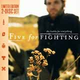 Five For Fighting 100 Years Sheet Music and Printable PDF Score | SKU 252982