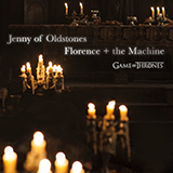 Download or print Florence And The Machine Jenny Of Oldstones (from Game of Thrones) Digital Sheet Music Notes and Chords - Printable PDF Score