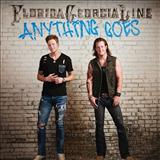 Florida Georgia Line Anything Goes Sheet Music and Printable PDF Score | SKU 162259
