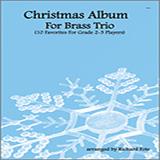 Fote Christmas Album For Brass Trio - Full Score Sheet Music and Printable PDF Score   SKU 313796