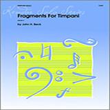 Beck Fragments For Timpani Sheet Music and Printable PDF Score | SKU 124741