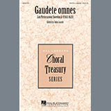 John Leavitt Gaudete Omnes Sheet Music and Printable PDF Score   SKU 290521