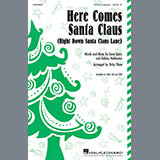 Gene Autry Here Comes Santa Claus (Right Down Santa Claus Lane) (Arr. Kirby Shaw) Sheet Music and Printable PDF Score | SKU 403079