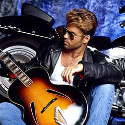 Download or print George Michael Kissing A Fool Digital Sheet Music Notes and Chords - Printable PDF Score