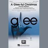 Glee Cast A Glee-ful Christmas (Choral Medley)(arr. Mark Brymer) - Bass Sheet Music and Printable PDF Score | SKU 302981